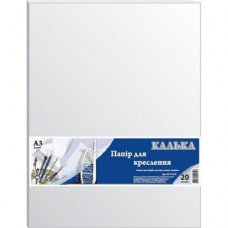 Калька Grafika А3, 20sheets, 42 г/м2, for Indian ink (КТ3120Е)