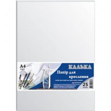 Калька Grafika А4, 25sheets, 42 г/м2, for Indian ink (КТ4125Е)